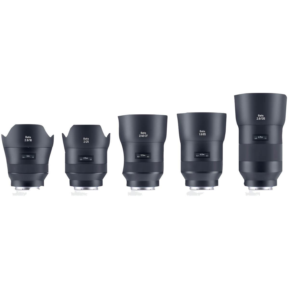 Zeiss 40 mm 1:2,0 Batis CF Makro Sony FE