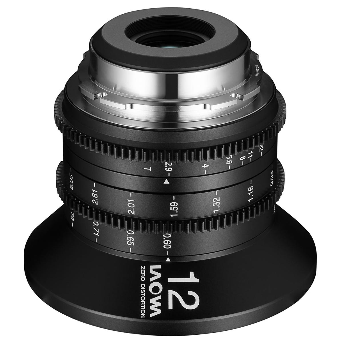 Laowa 12 mm 1:2,8 Zero-D Cine für Canon EF