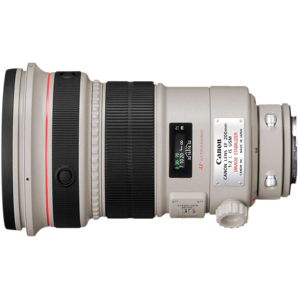 Canon EF 200 mm 1:2,0 L IS USM