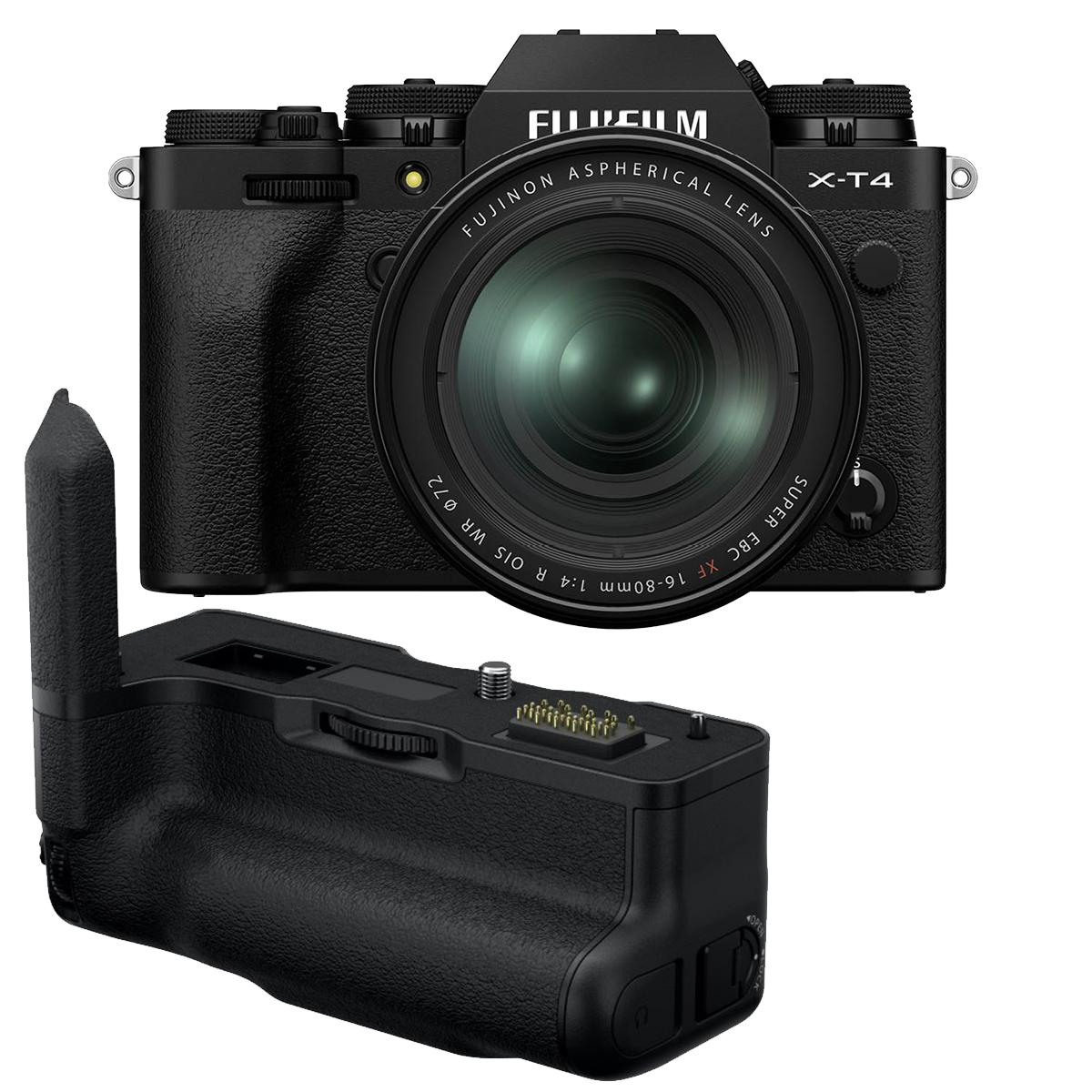 Fujifilm X-T4 Kit mit 16-80 mm 1:4,0 + VG-XT4 Handgriff