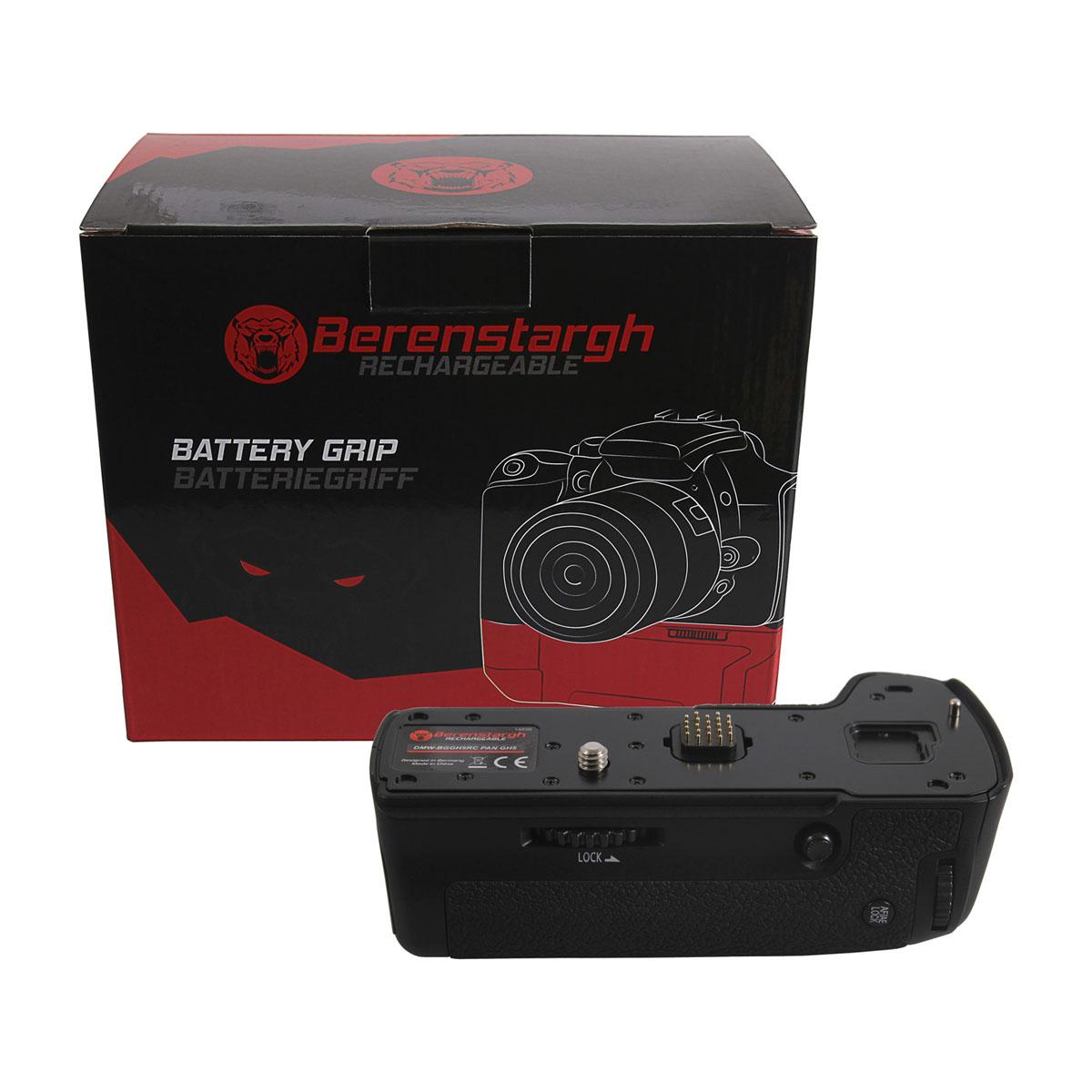 Berenstargh Batteriegriff für Panasonic GX80