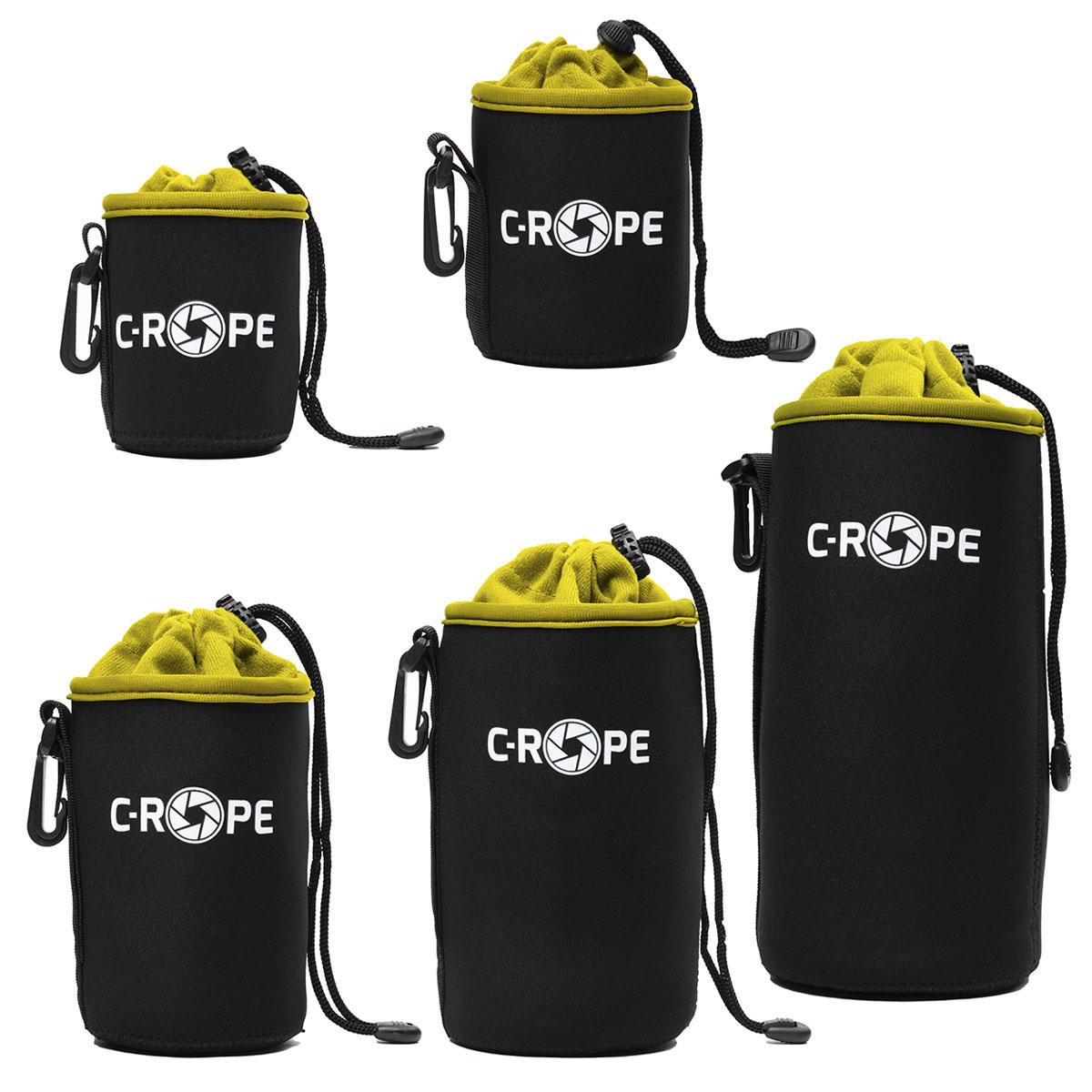 C-Rope Lenspouch schwarz Set XS/S/M/L/XL