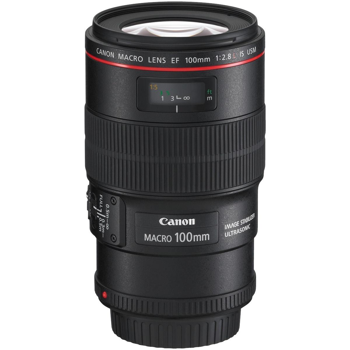 Canon EF 100 mm 1:2,8 L IS Macro USM