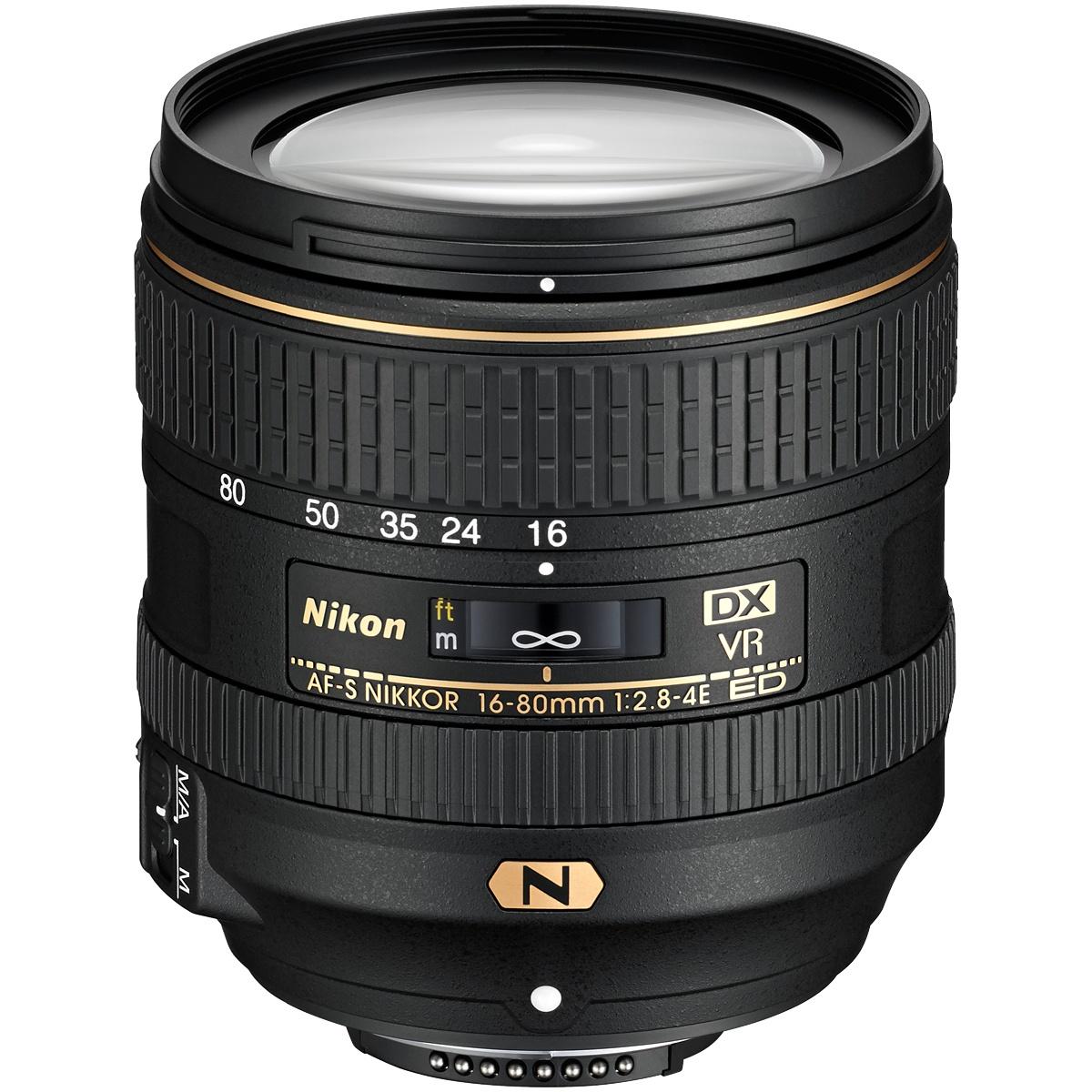 Nikon 16-80 mm 1:2,8-4,0 AF-S DX VR