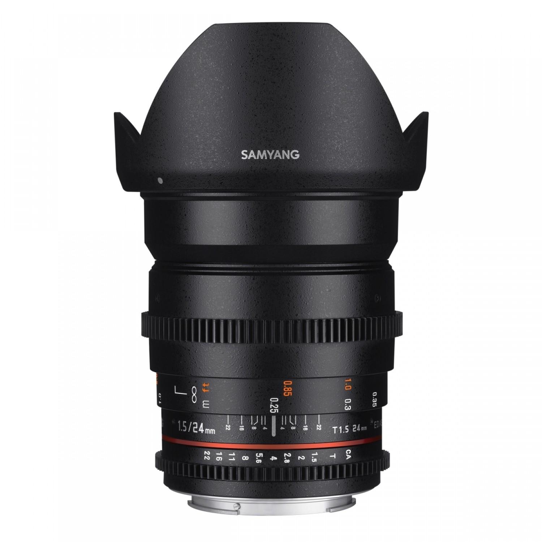 Samyang MF 24 mm 1:1,5 Video-Objektiv für MFT