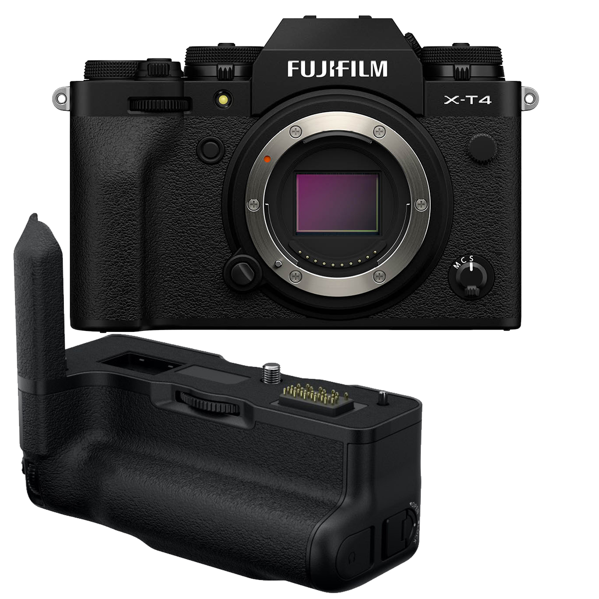 Fujifilm X-T4 Kit mit VG-XT4 Handgriff schwarz