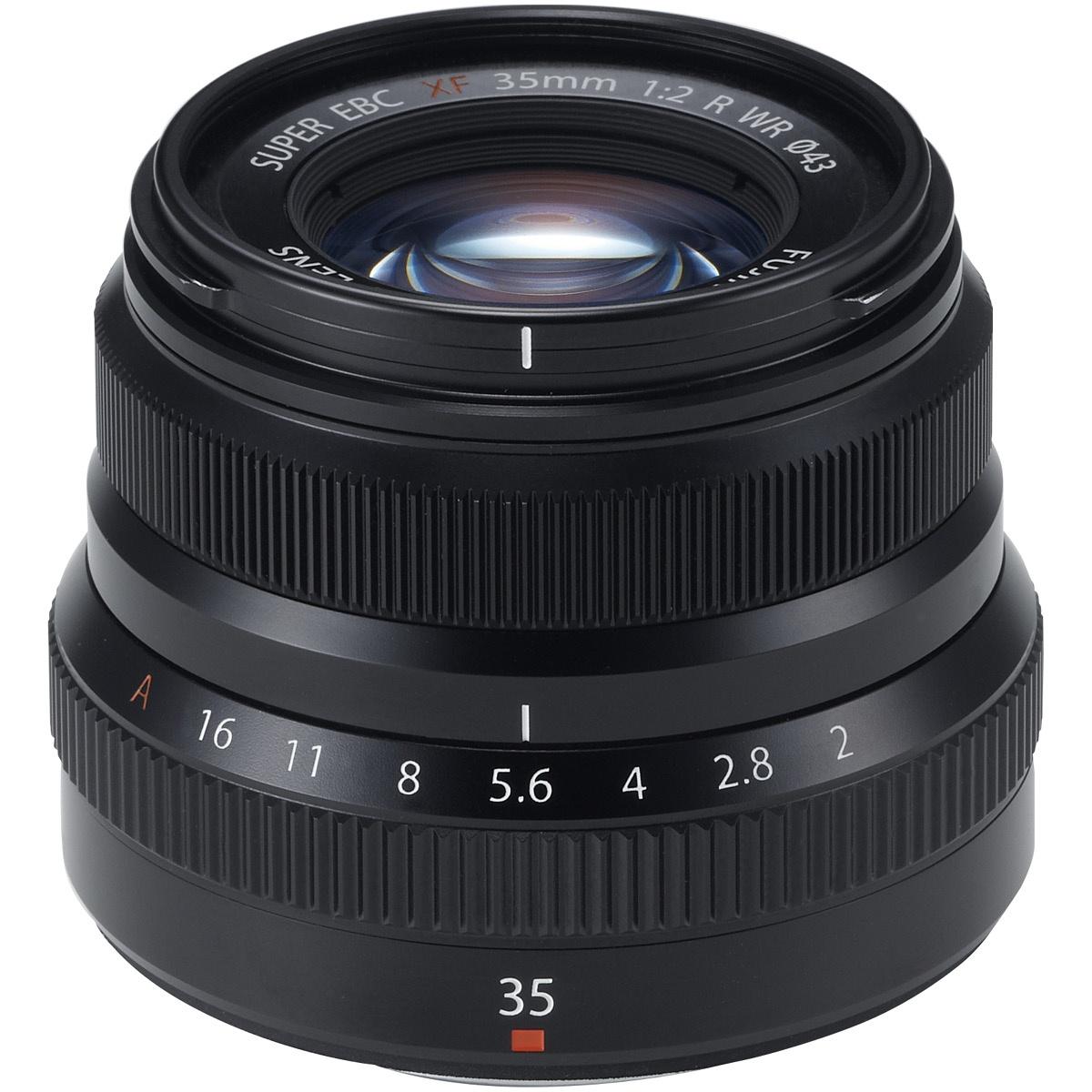Fujifilm XF 35 mm 1:2,0 R WR Schwarz