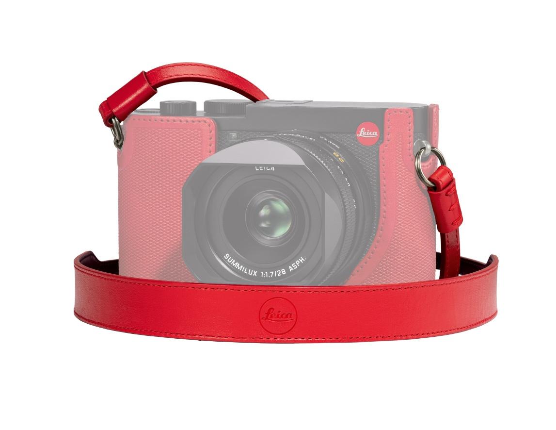 Leica Trageriemen Q2 Rot
