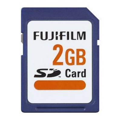 Fujifilm 2 GB SD Speicherkarte