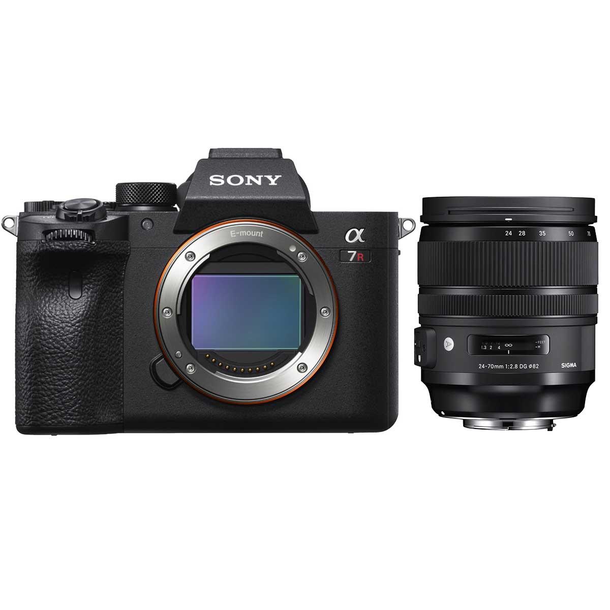 Sony Alpha 7R III A + Sigma 24-70 mm 1:2,8 DG DN Art FE-Mount