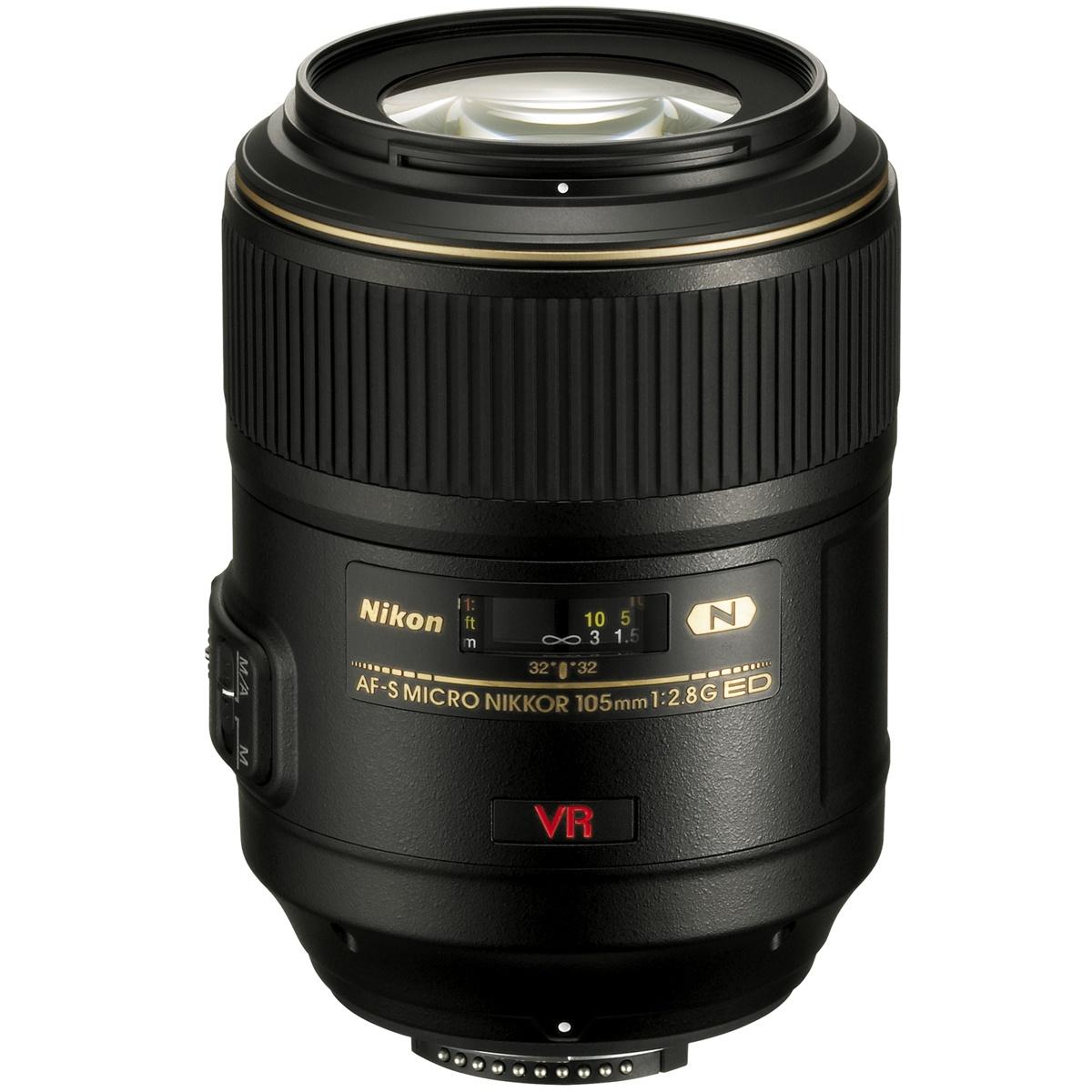 Nikon 105 mm 1:2,8 AF-S VR Micro ED