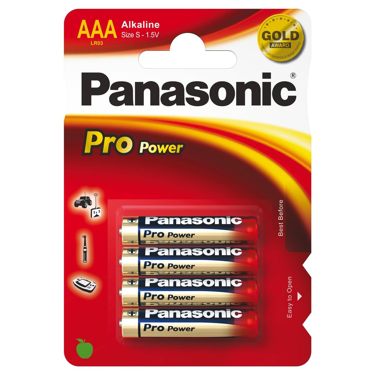 Panasonic Micro AAA LR03 4er-Pack