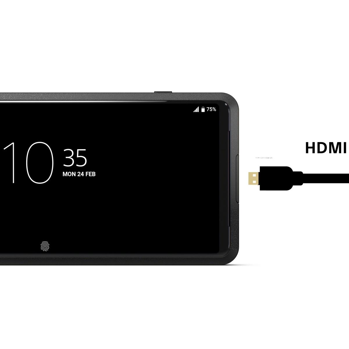 Sony Xperia Pro 5G 512 GB Schwarz