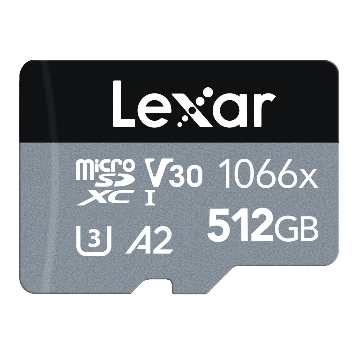 Lexar 512 GB Micro-SD 1066x