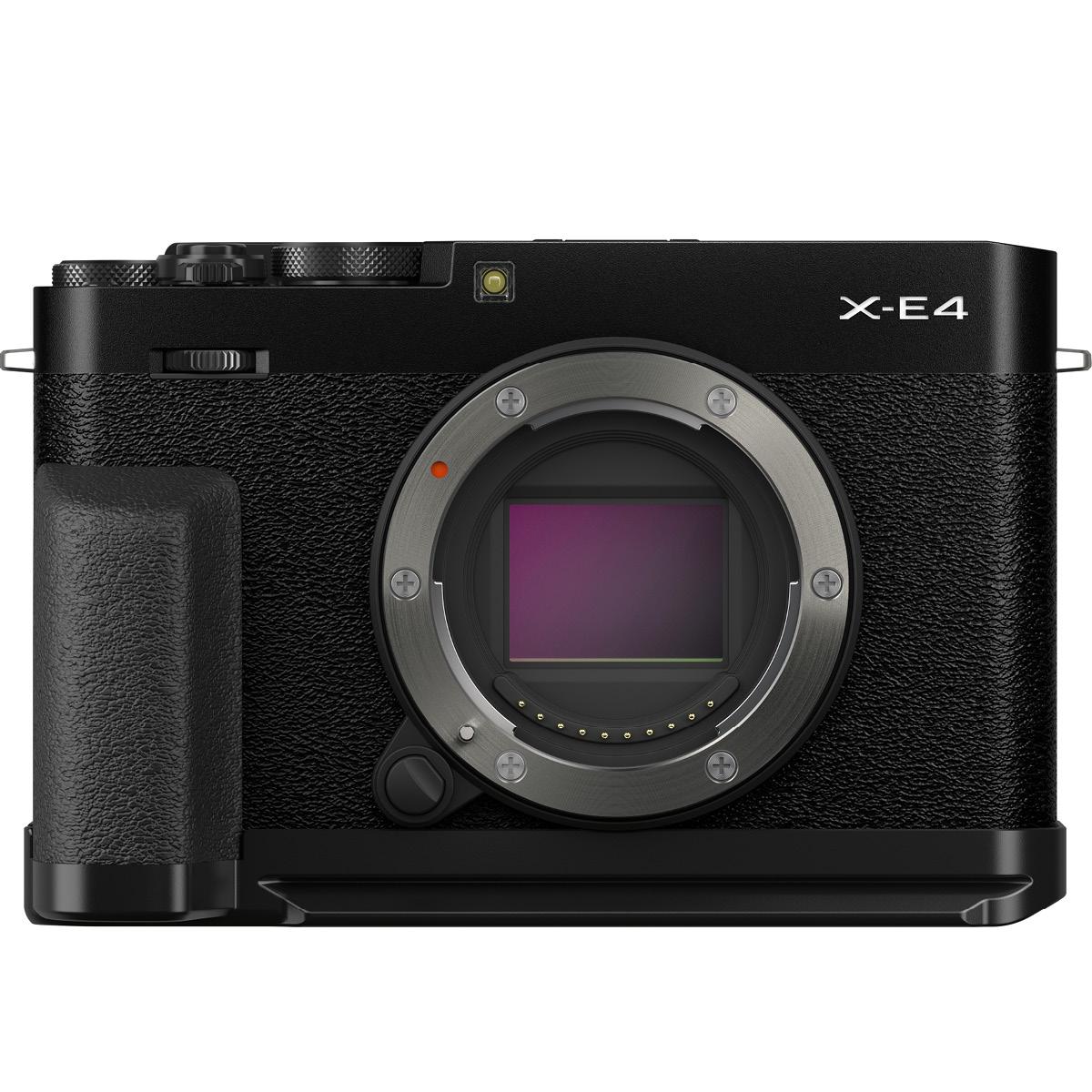 Fujifilm X-E4 Kit mit Zubehör Schwarz