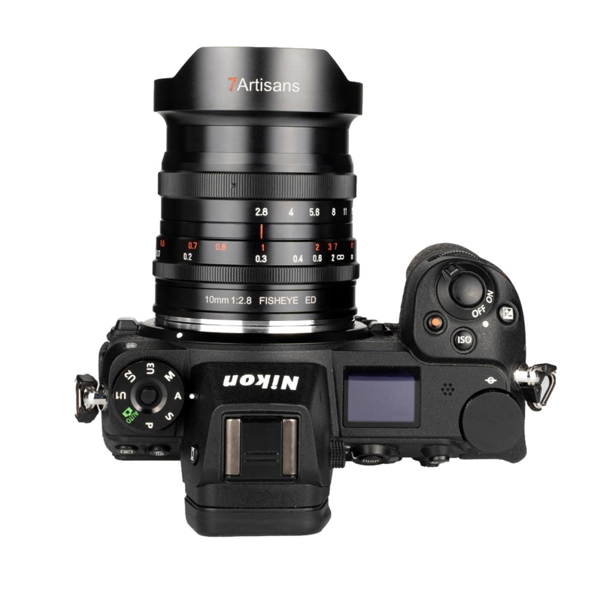 7Artisans 10 mm 1:2,8 Fisheye ED für Nikon Z