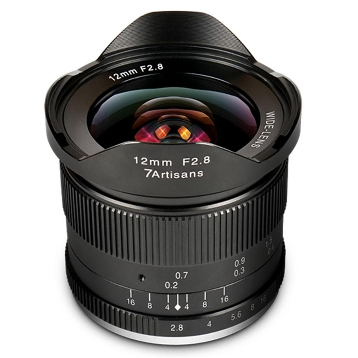 7Artisans 12 mm 1:2,8 für Canon EF-M