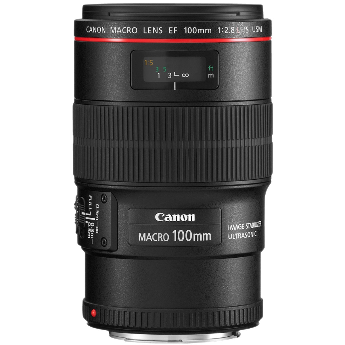Canon EF 100 mm 1:2,8 L IS Macro USM
