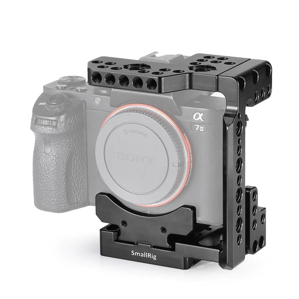 SmallRig Arca QR-Half Cage für Sony 7R III / A7 III / A7 II / A7R II / A7S II 2238