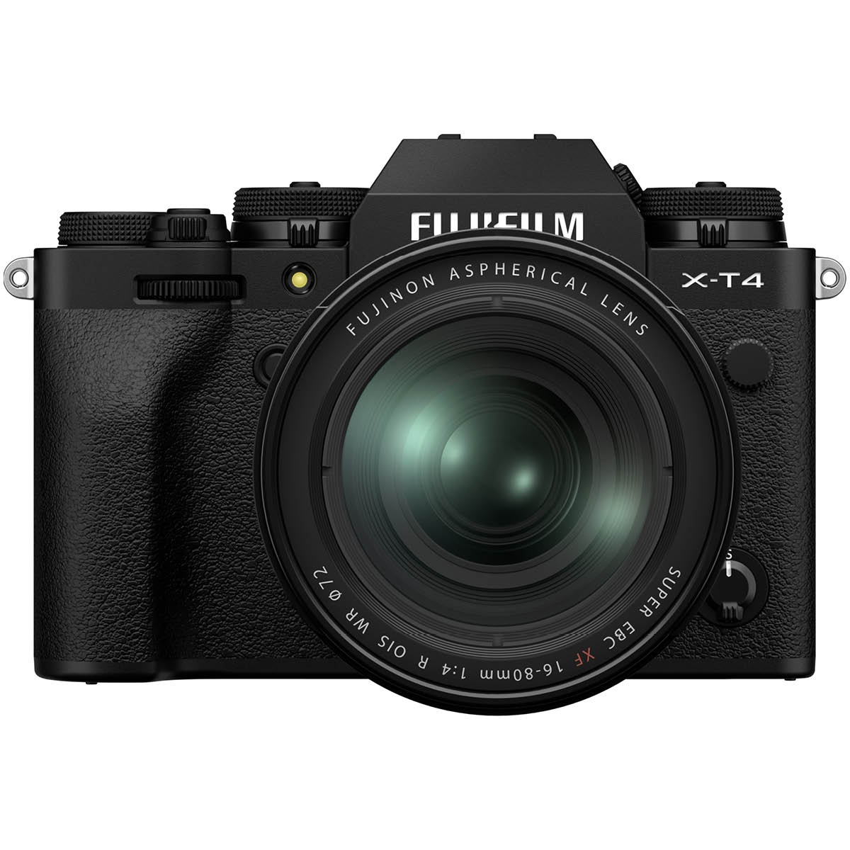 Fujifilm X T4 Kit mit 16-80 mm 1:4,0 Schwarz