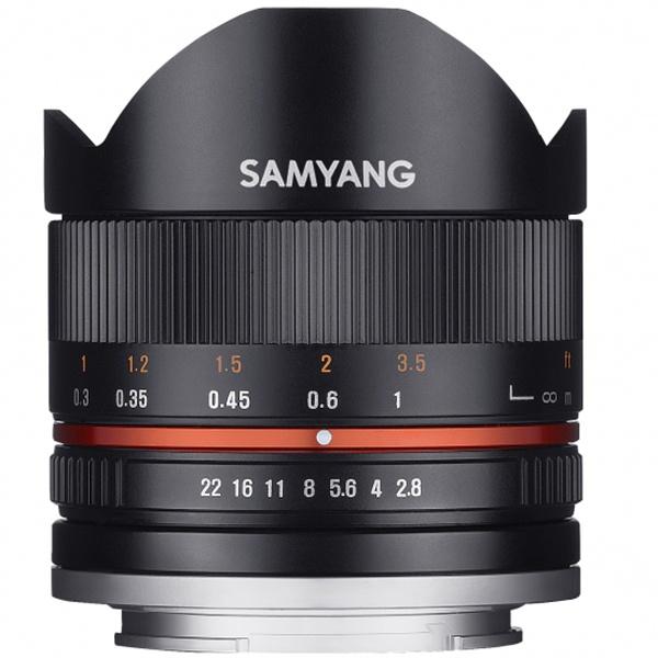 Samyang 8mm 1:3,5 UMC Fish-Eye CS II für Canon