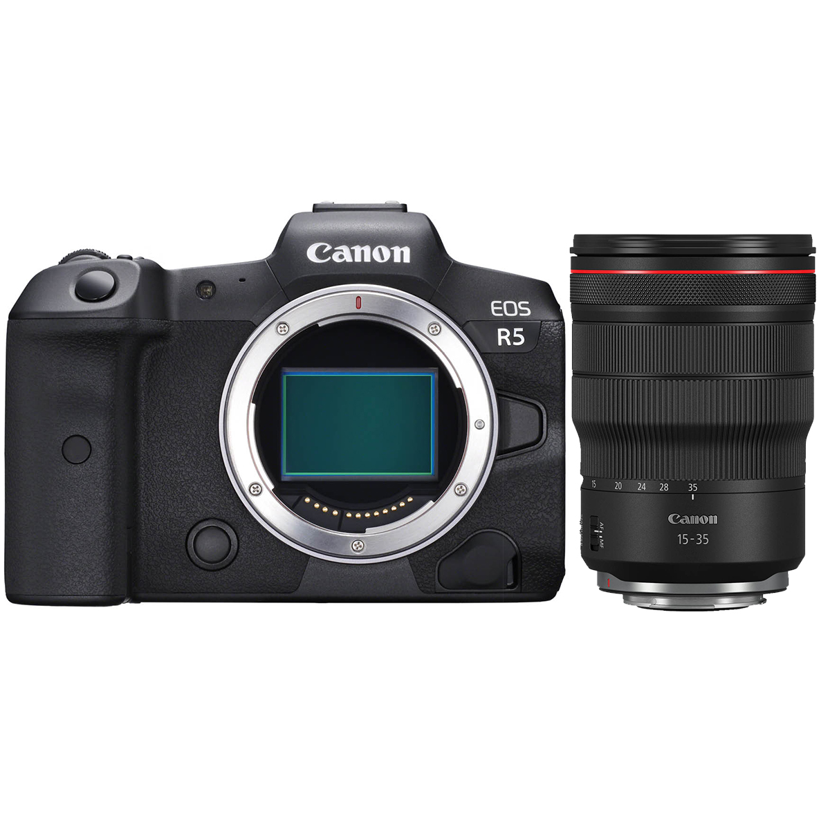 Canon EOS R5 + RF 15-35mm 1:2,8 L IS USM