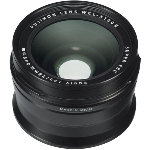 Fujifilm WCL-X100 II Weitwinkel-Konverter Schwarz