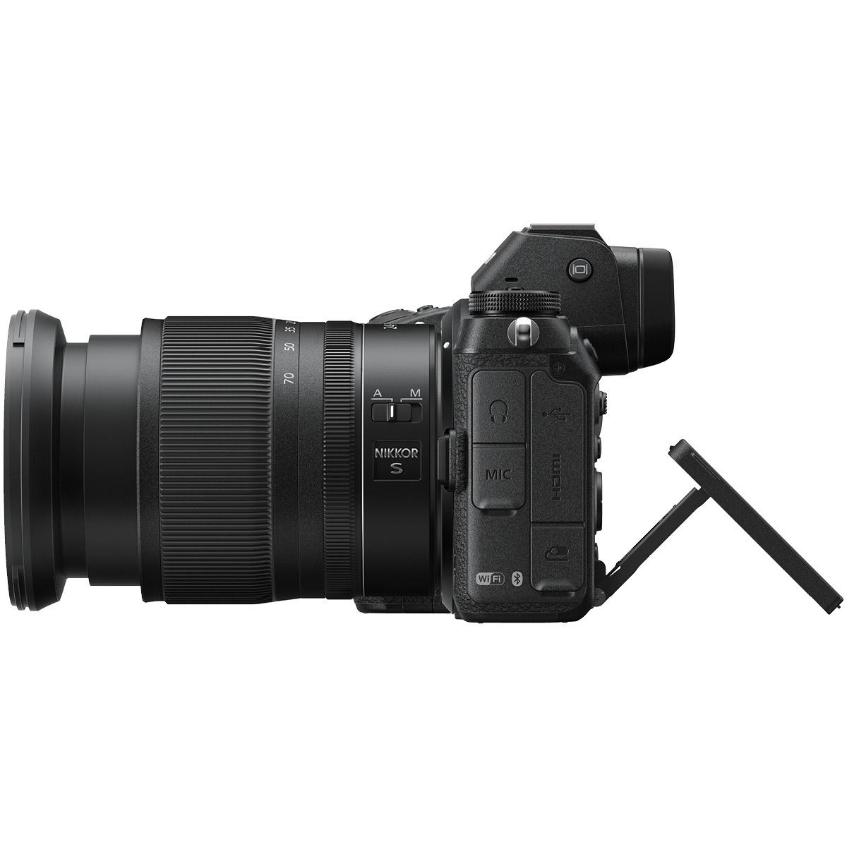 Nikon Z6 Kit mit 24-70 mm 1:4,0 + FTZ-Adapter