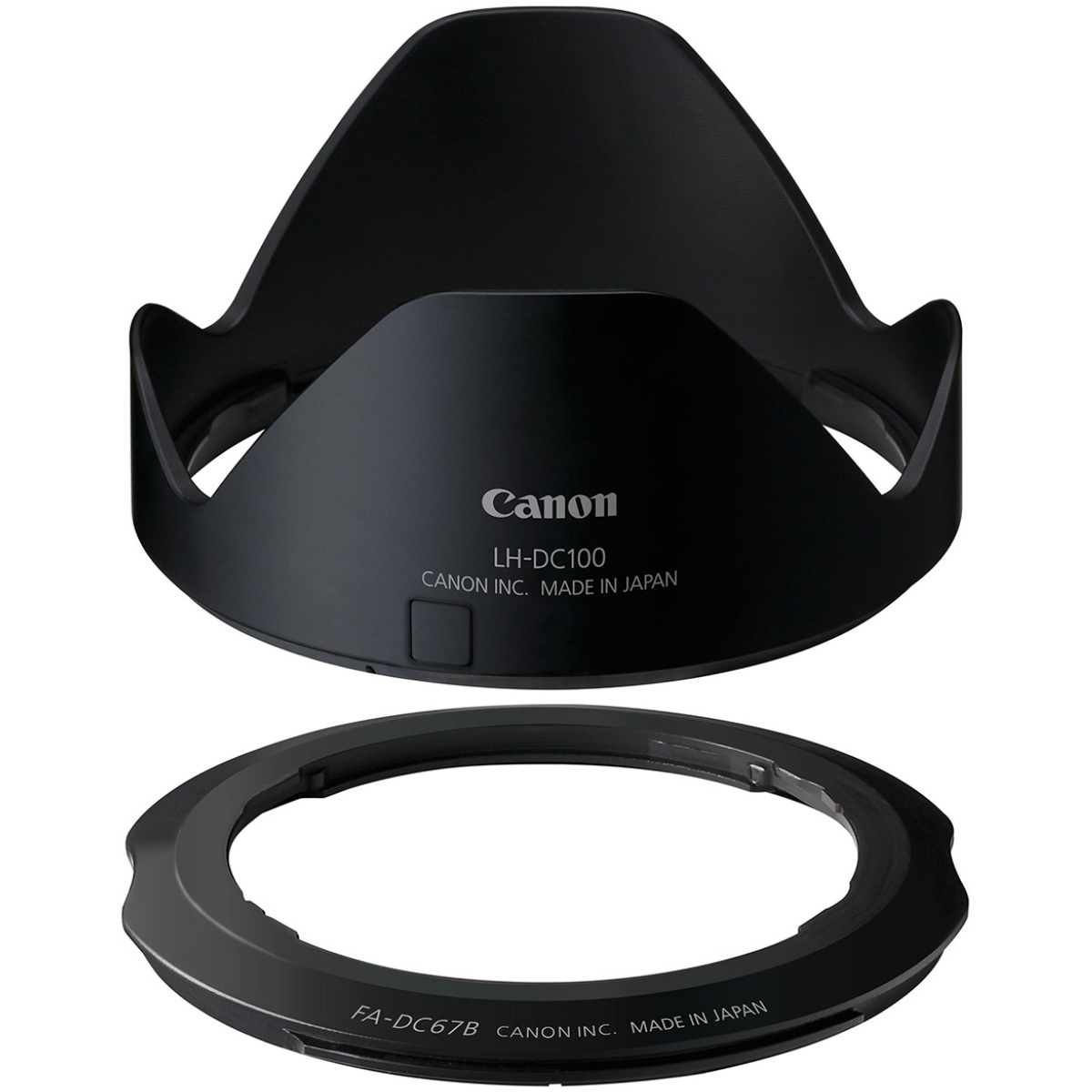 Canon LH-DC100 Gegenlichtblende + FA-DC67B Adapter