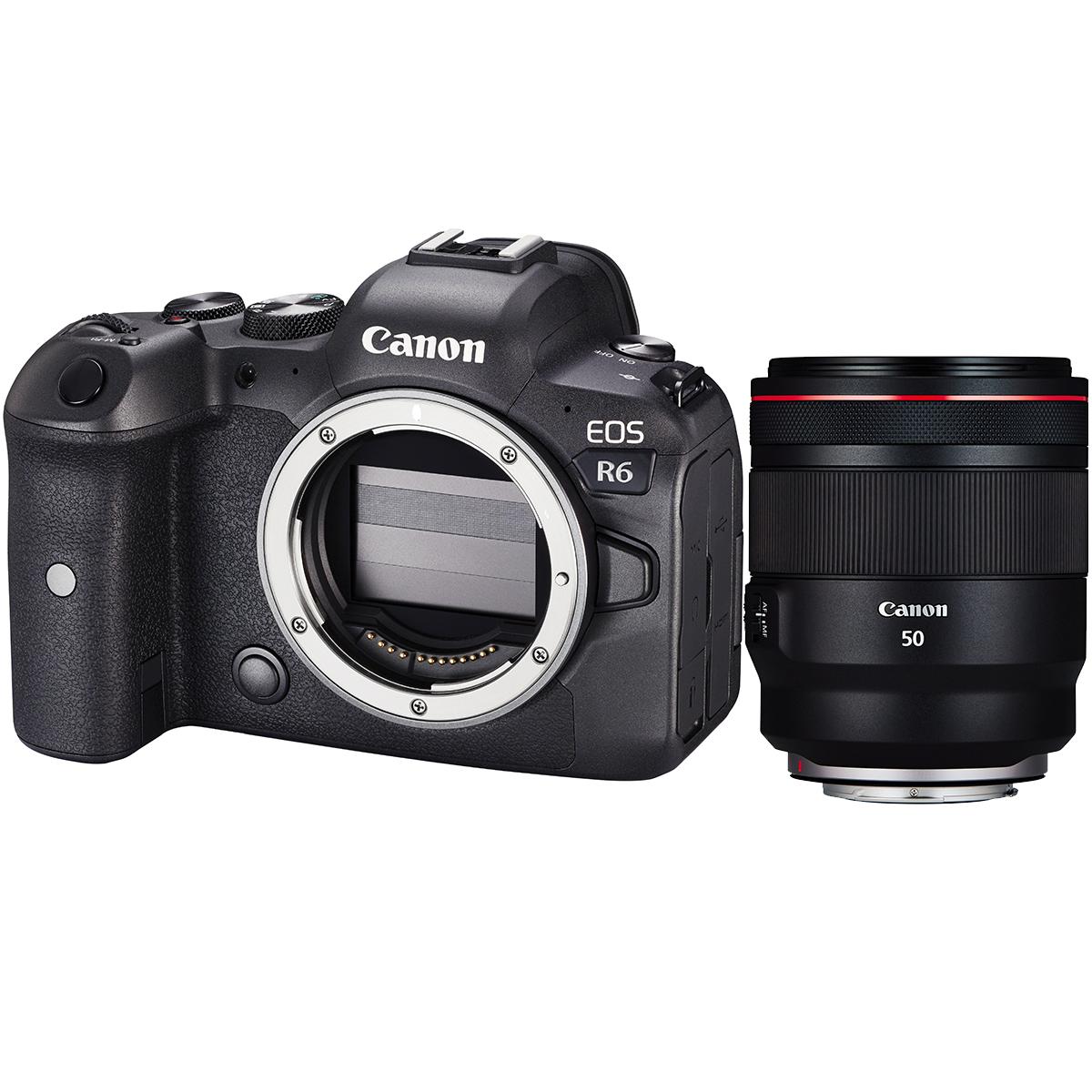 Canon EOS R6 + RF 50mm 1:1,2 L USM