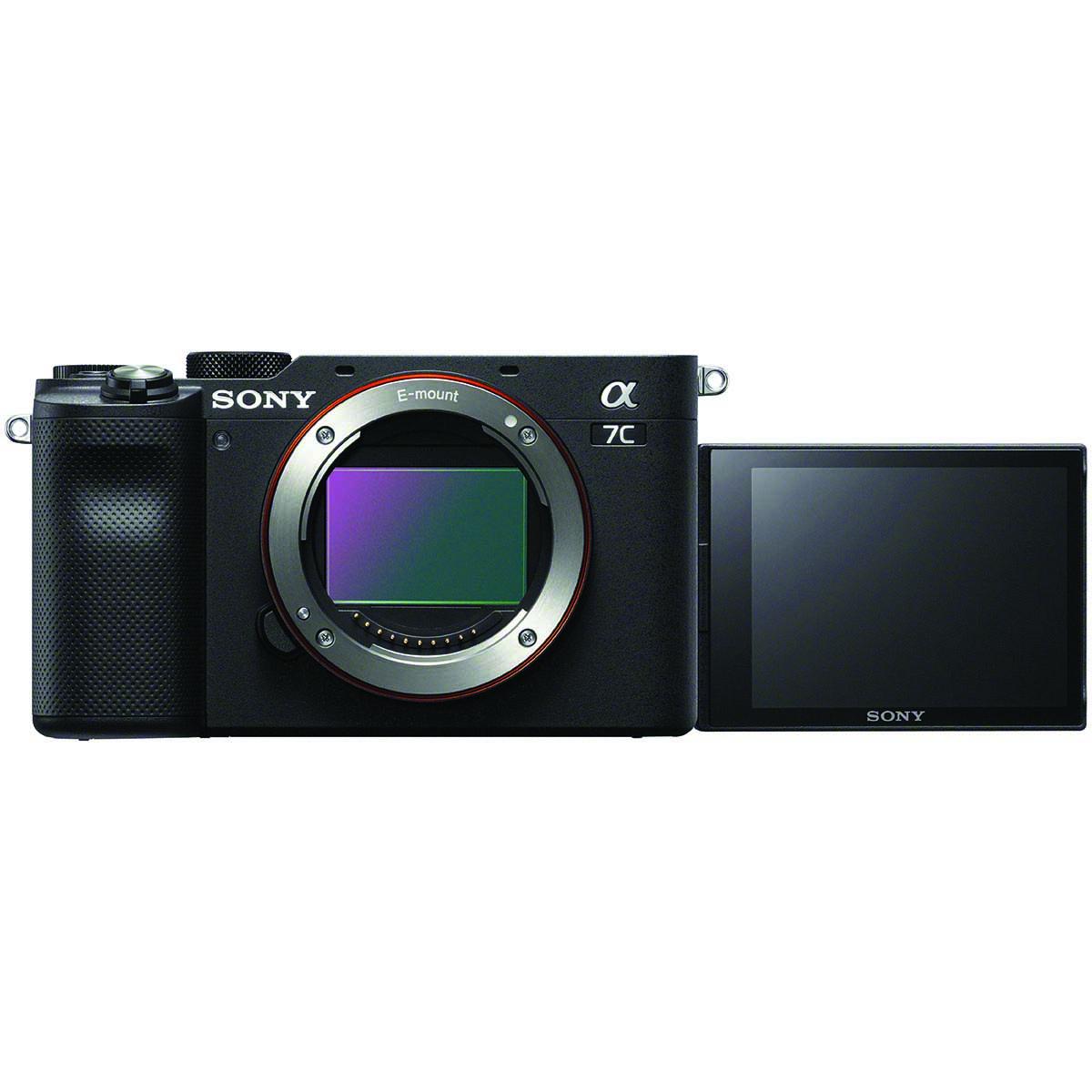 Sony Alpha 7C + 28-60 mm 1:4-5,6 Schwarz