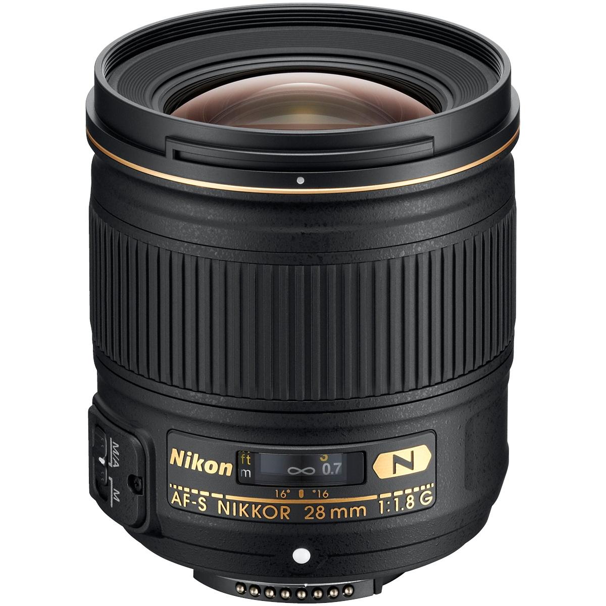Nikon 28 mm 1:1,8 AF-S Nikkor G