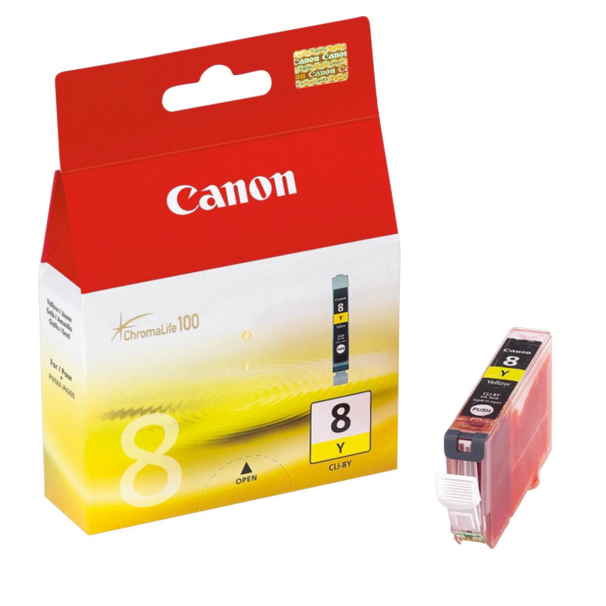 Canon CLI 8 Y Tintenpatrone Gelb