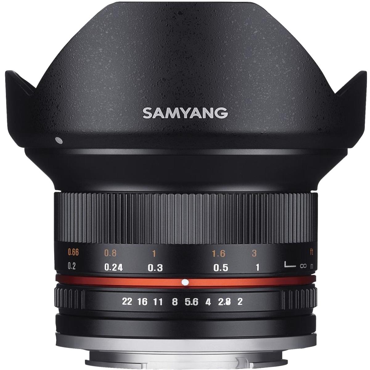 Samyang MF 12 mm 1:2,0 für MFT
