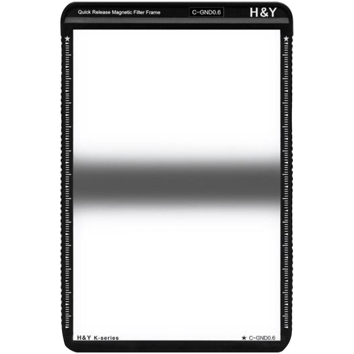H&Y Grauverlaufsfilter 100x150 mm GND4 Zentral K-Serie
