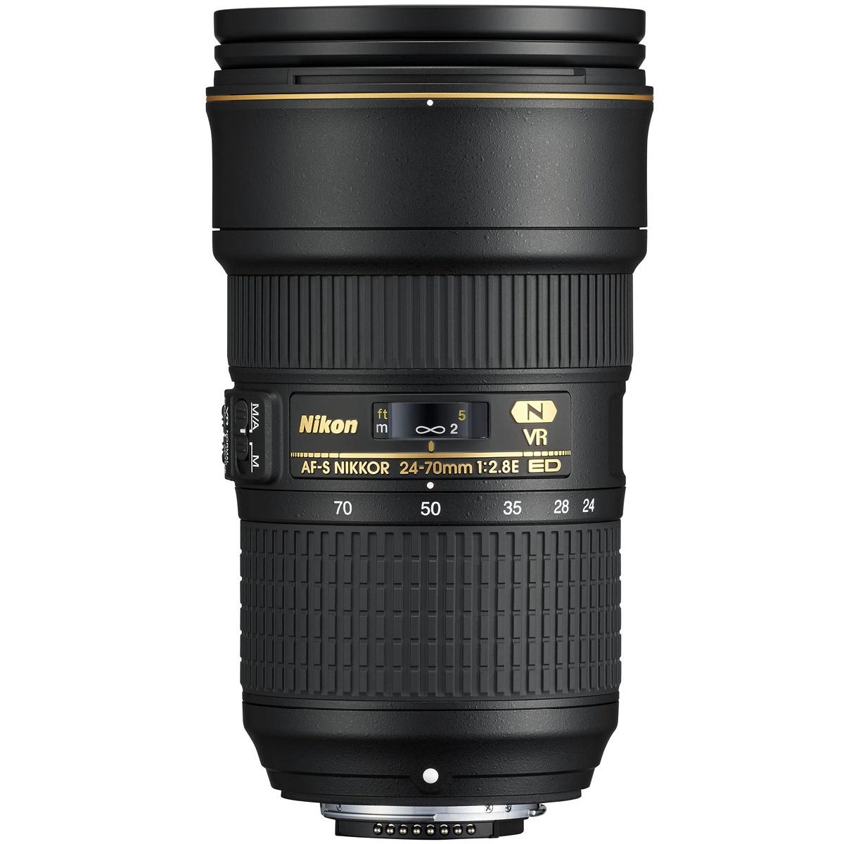 Nikon 24-70 mm 1:2,8 AF-S E ED VR
