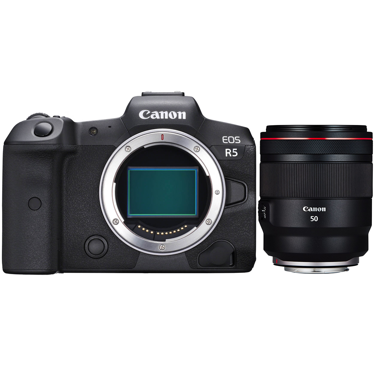 Canon EOS R5 + RF 50mm 1:1,2 L USM