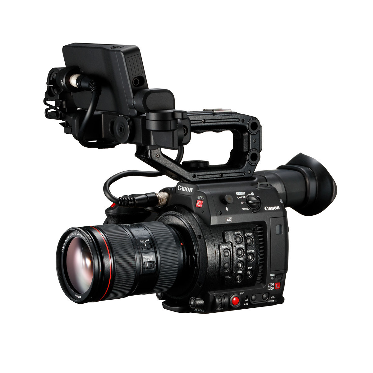 Canon C200 Body mit EF 24-105 mm 1:4,0 L IS II