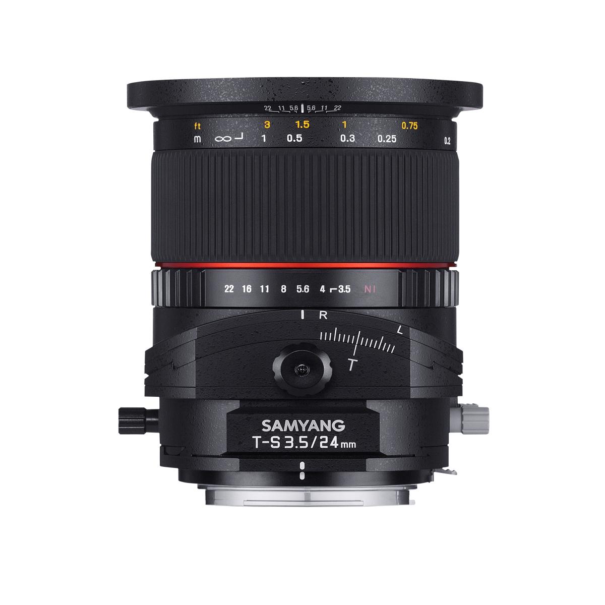 Samyang Tilt-Shift 24 mm 1:3,5 für Sony A