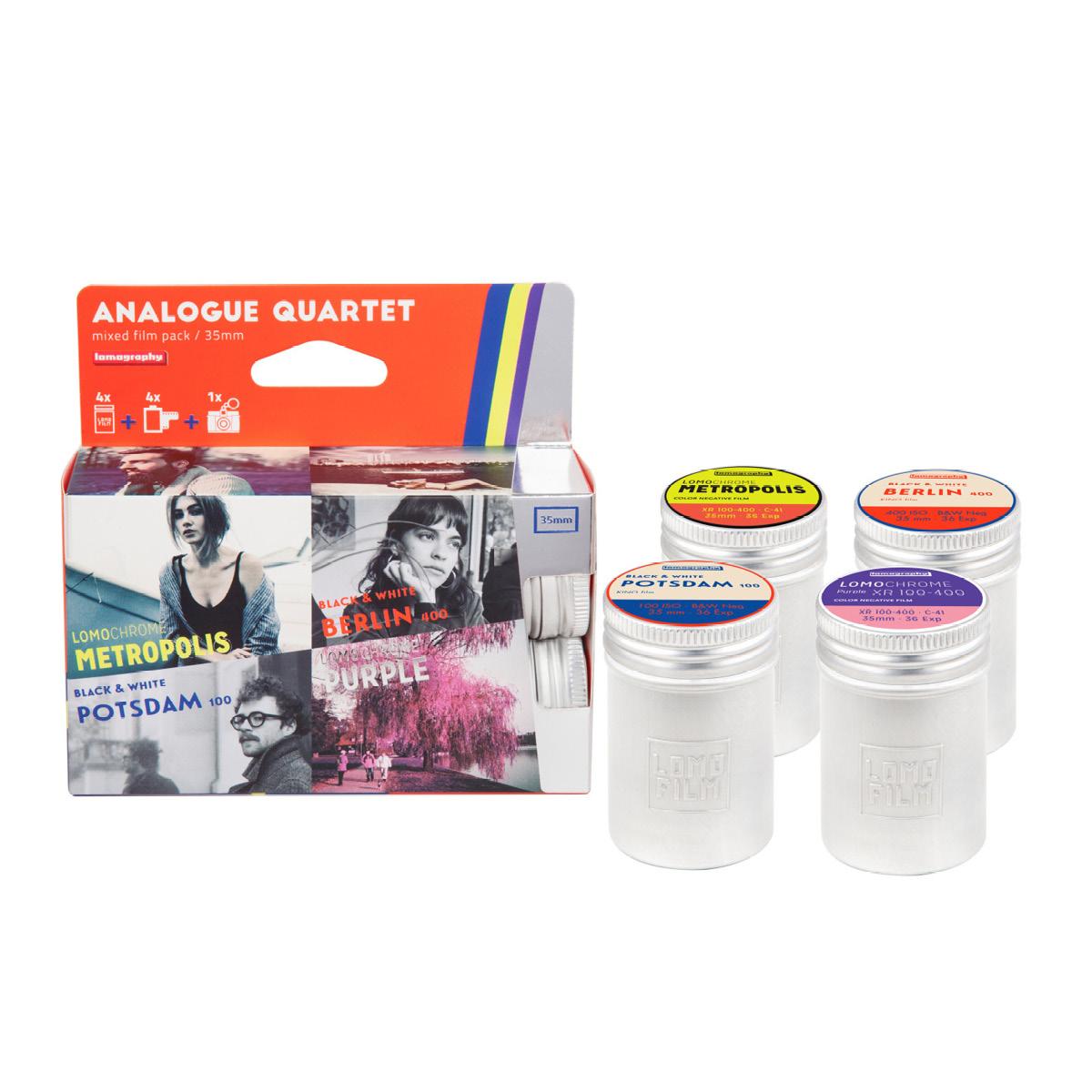 Lomo Quartet Mixed 35 mm Kleinbildfilm