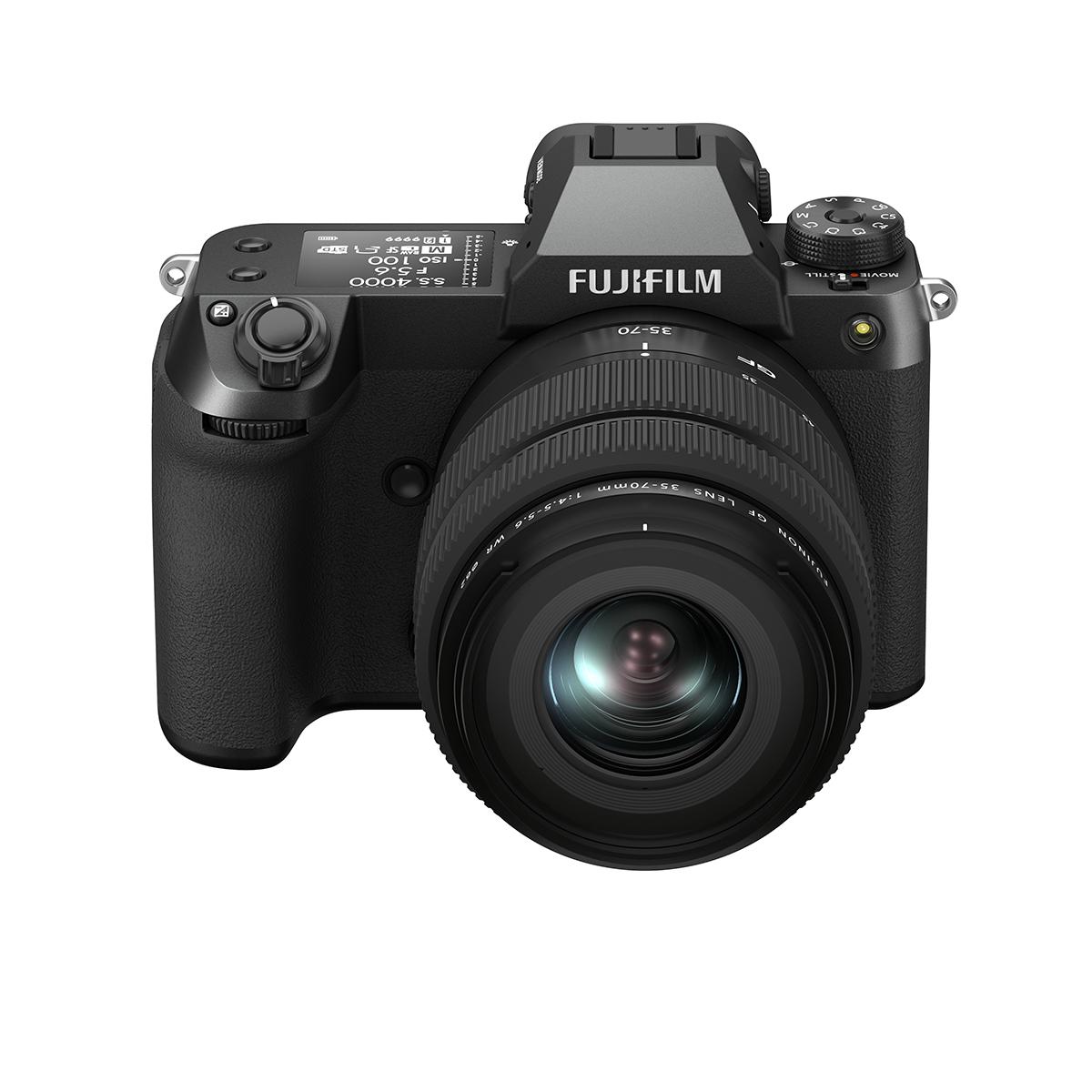 Fujifilm GFX 50 S II mit 35-70 mm GF WR