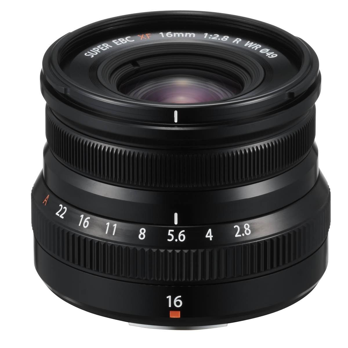 Fujifilm XF 16 mm 1:2,8 R WR Schwarz