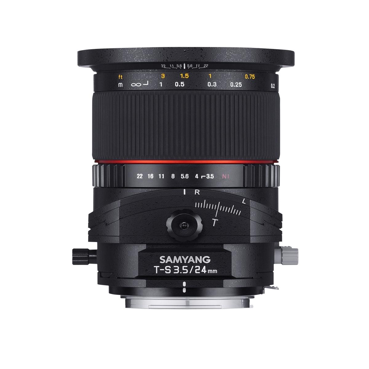 Samyang Tilt-Shift 24 mm 1:3,5 für Nikon F