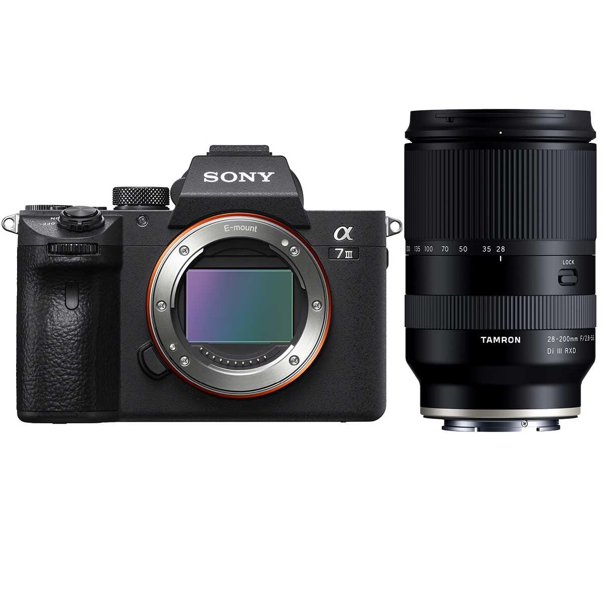 Sony Alpha 7 III + Tamron 28-200mm 1:2,8-5,6 Di III RXD