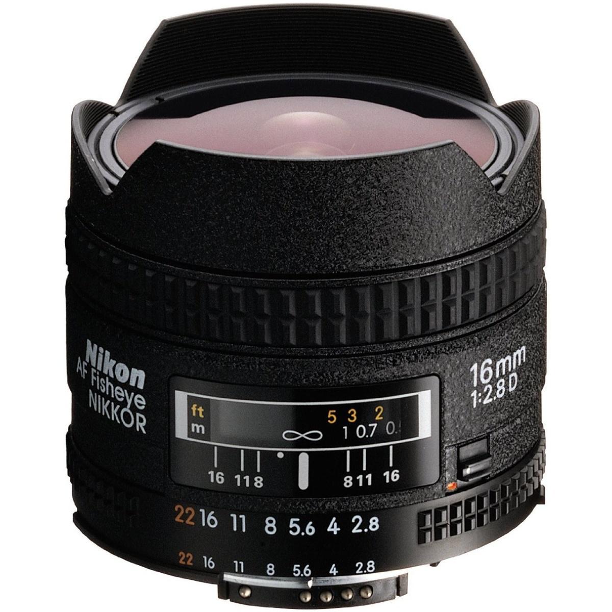 Nikon 16 mm 1:2,8 AF-D Fisheye