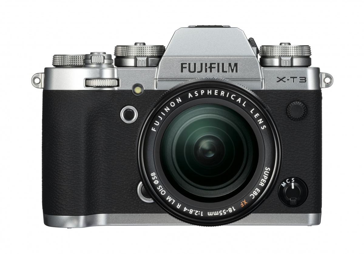 Fujifilm X-T3 Kit mit 18-55 mm 1:2,8-4,0 Silber