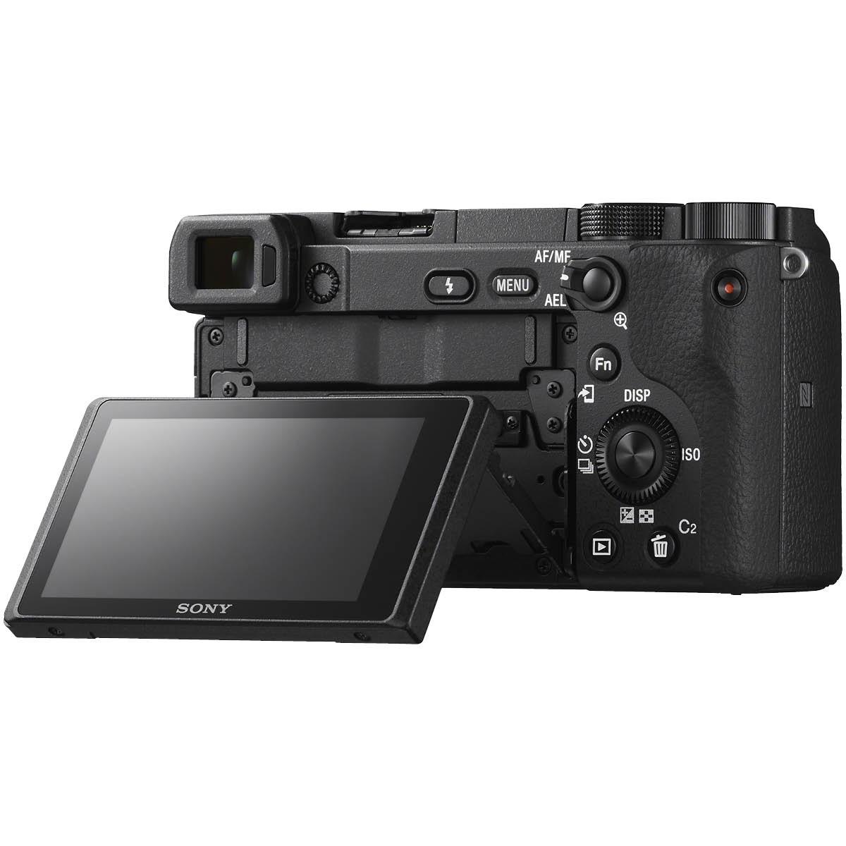 Sony Alpha 6400 Kit mit 16-50 mm 1:3,5-5,6