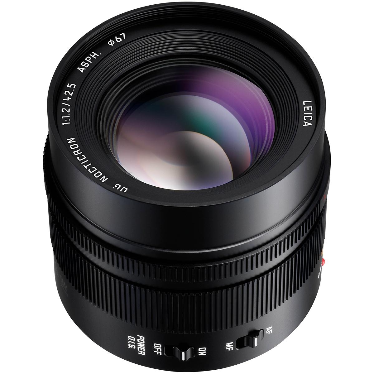 Panasonic 42,5 mm 1:1,2 Leica Nocticron ASPH OIS