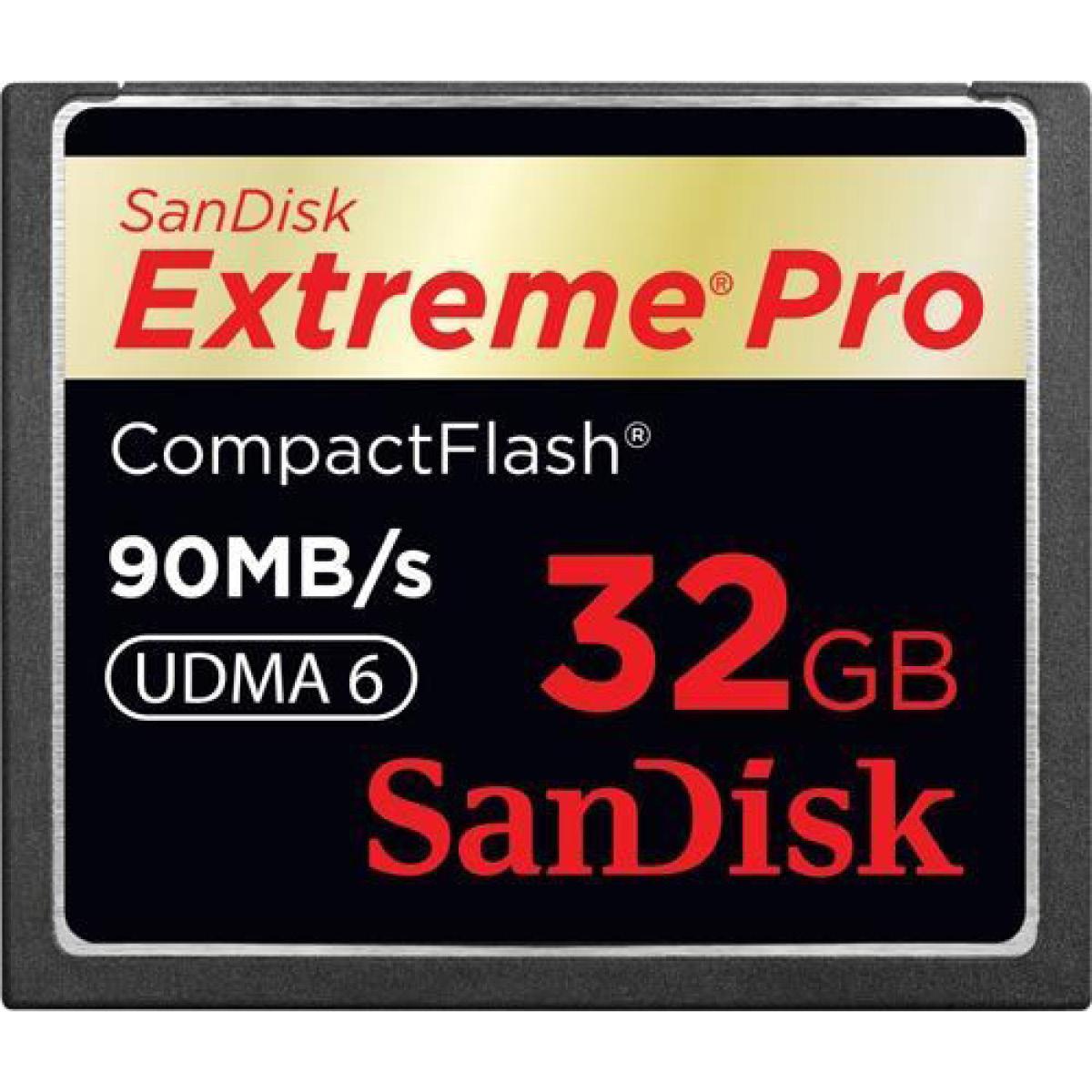 SanDisk 32 GB CF Extreme Pro 160MB/s