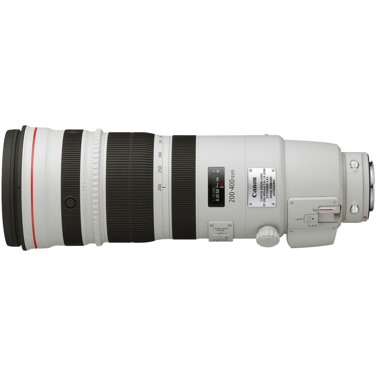 Canon EF 200-400 mm 1:4,0 L IS USM Set mit Extender 1,4x
